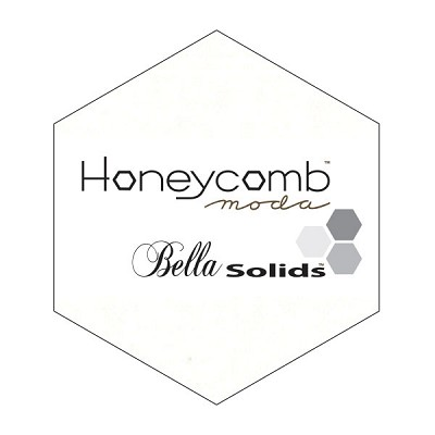 Bella Solids Honeycomb 9900HC-182 Porcelain by Moda