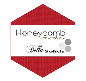 Bella Solids Honeycomb 9900HC-16 Red by Moda