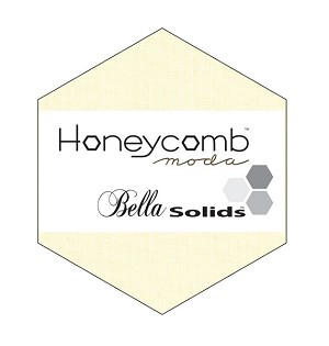 Bella Solids Honeycomb 9900HC-11 Snow by Moda