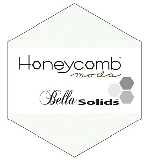 Bella Solids Honeycomb 9900HC-98 White by Moda