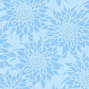 Better Gnomes & Gardens 6HDB1 Blue Tonal Floral by In The Beginning