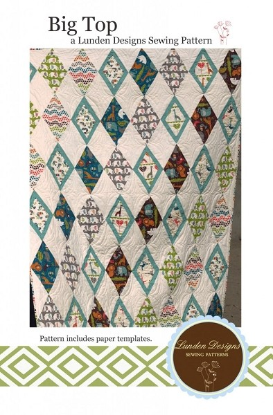 Big Top Quilting Pattern - Safari Soiree - Lunden Designs