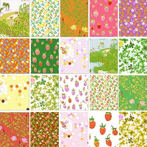 Briar Rose 19 Fat Quarter Set by Heather Ross for Windham