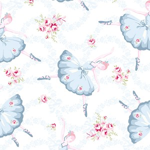 Ballet Rose 927 WB by Rachel Ashwell for Treasures by Shabby Chic