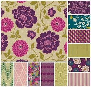 Bungalow 12 Fat Quarter Set by Joel Dewberry for Free Spirit
