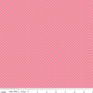 Think Pink C3703 Pink Dots by Riley Blake