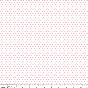 Snapshots C4075 Pink Hearts by Bella Blvd for Riley Blake