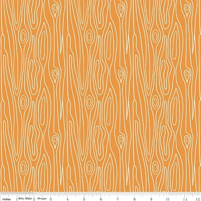 Good Natured C4083 Orange Timber by Marin Sutton for Riley Blake