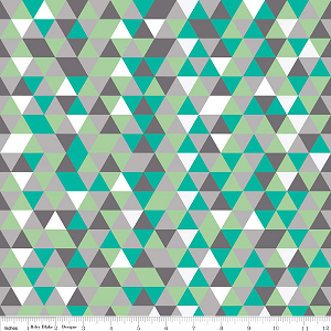 The Cottage Garden C4225 Gray Triangles by Riley Blake