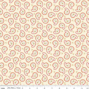 Calliope C3203 Pink Paisley by Stitch Studios for Riley Blake