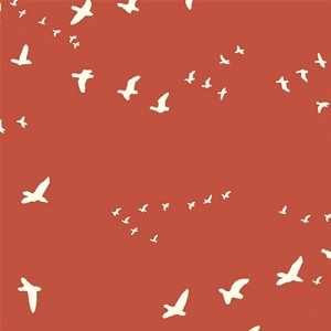 Flight Organic Canvas BDG-03 Paprika by Jay-Cyn Designs for Birch