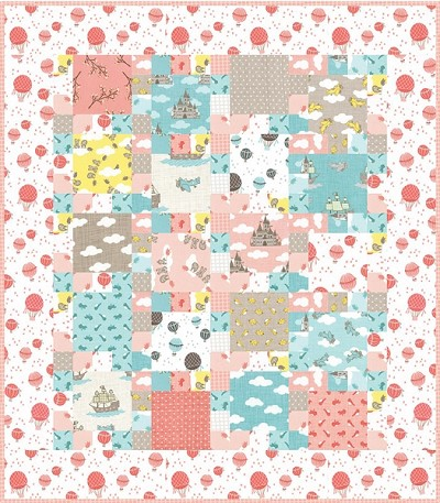 Castles in the Sky Quilt Pattern by Open Gate Quilts