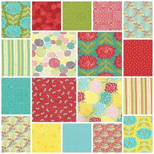 Chantilly 18 Fat Quarter Set by Lauren & Jessi Jung for Moda