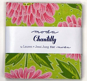 Chantilly Charm Pack by Lauren & Jessi Jung for Moda