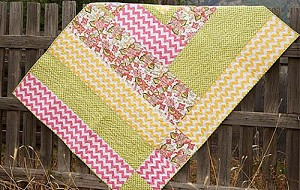 Chevron Cabin Quilt Kit by Riley Blake