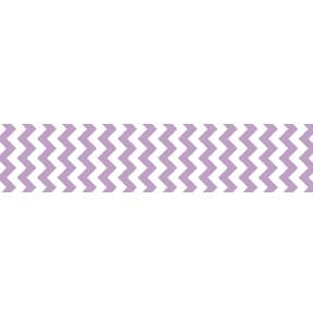 "Chevron Grosgrain Ribbon 7/8"" Lavender by Riley Blake"