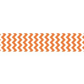 "Chevron Grosgrain Ribbon 7/8"" Orange by Riley Blake"