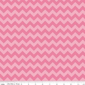 Chevron Small C400-71 Hot Pink Tonal by Riley Blake