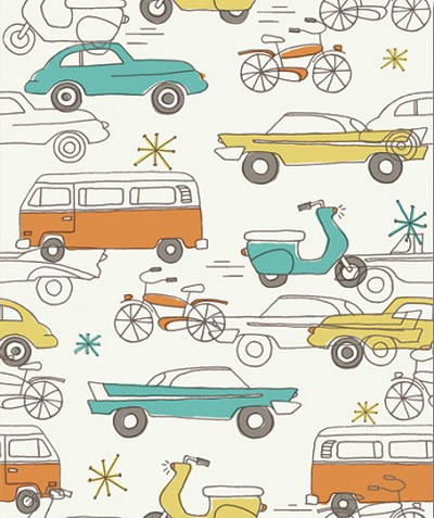 Circa 52 Organic JM12 Cars by Monaluna for Birch
