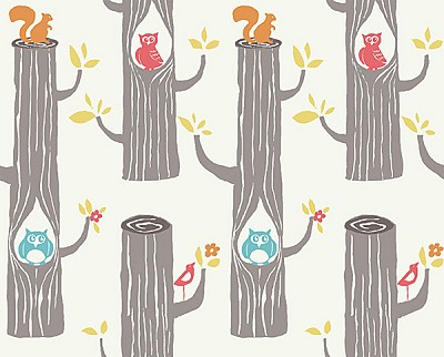 Circa 52 Organic JM15 Woodland Friends by Monaluna for Birch