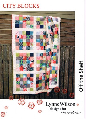 City Blocks Quilt Pattern by Lynne Wilson Designs