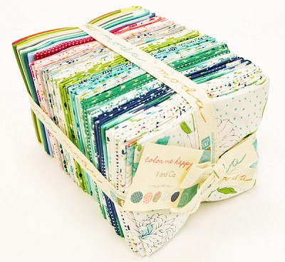 Color Me Happy 40 Fat Quarter Bundle by V & Co for Moda