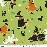 Costume Club 6652-74 Witches Brew by Sheri Berry for Northcott