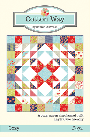 Cozy Quilt Pattern by Cotton Way