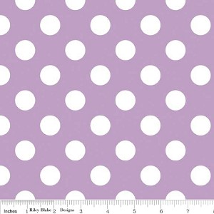 Dots Medium C360-120 Lavender by Riley Blake