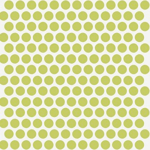 Mod Basics Organic MB-01 Grass on Cream Dottie by Birch Fabrics