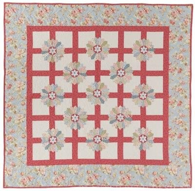 Dresden Beauty Quilt Pattern by Planted Seed Designs