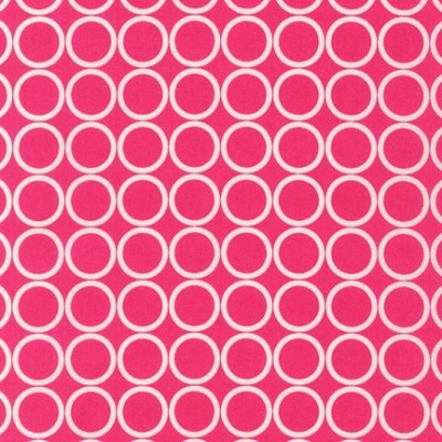 Metro Living 11016-108 Fuchsia Circles by R Kaufman