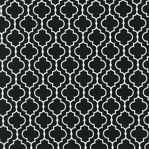 Metro Living 11018-2 Black Tiles by Robert Kaufman