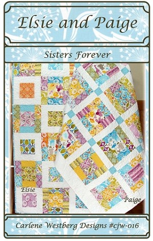 Elsie and Paige Sisters Forever Quilt Pattern