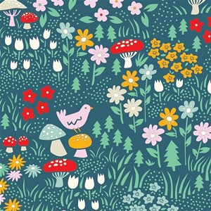 Everyday Party Organic EI-16 Meadow Floral by Birch