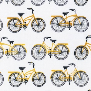 Everyday Favorites 13560-5 Yellow Bicycles by Robert Kaufman
