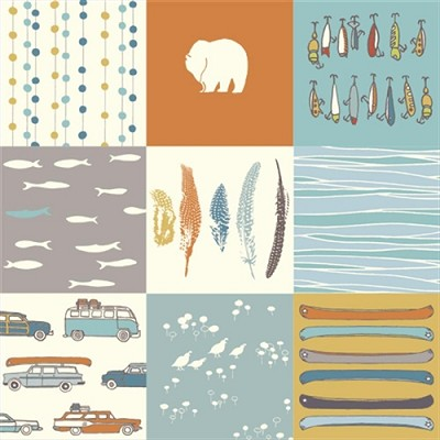 Feather River Organic FR-11 Feather River Patch by Birch Fabrics