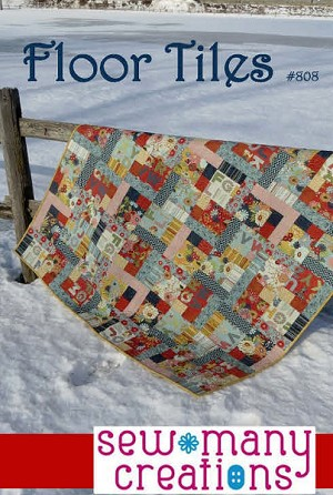 Floor Tiles Quilt Pattern by Sew Many Creations