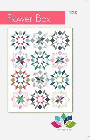 Flower Box Quilt Pattern by V & Co