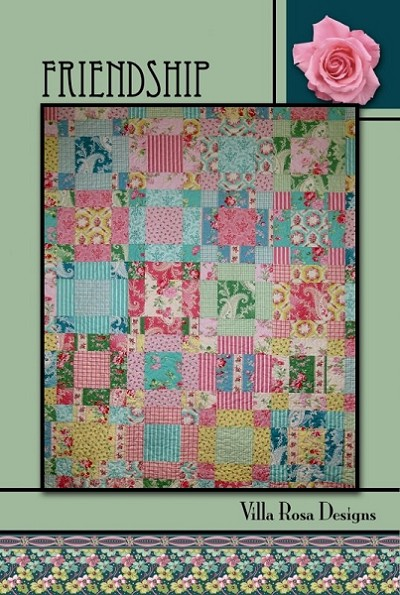 Friendship Quilt Pattern by Villa Rosa Designs