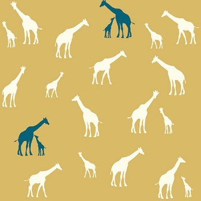 Serengeti Organic SG-11 Sun Giraffe Fam by Jay-Cyn for Birch