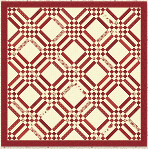 Holiday Quilt Pattern by Minick and Simpson