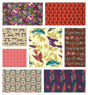 Honor Roll 8 Fat Quarter Set by Anna Maria Horner for Free Spirit