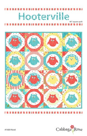 Hooterville Quilt Pattern by Cabbage Rose