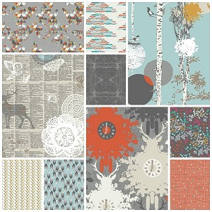 Indelible 10 Fat Quarter Set by Art Gallery