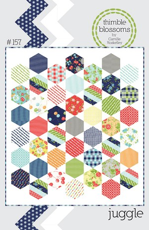 Juggle Quilt Pattern by Thimble Blossoms