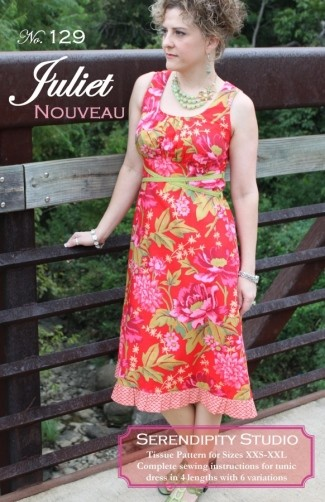 Juliet Nouveau Dress Pattern by Serendipity Studio