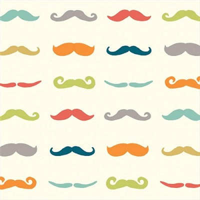 Just for Fun Organic Fun-07 Multi Staches by Birch Fabrics