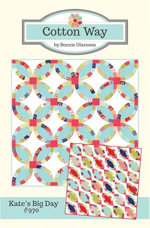 Kate's Big Day Quilt Pattern by Cotton Way