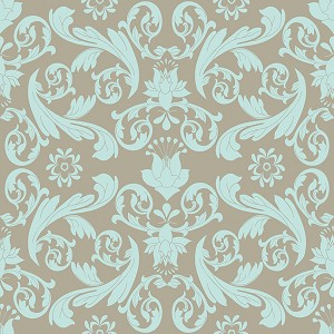 Kensington C3321 Gray Damask by Emily Taylor for Riley Blake